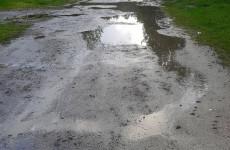 Ulica Stanisława Koniecpolskiego po deszczu