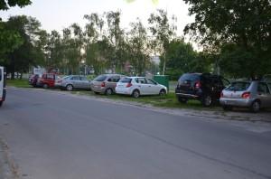 Brak miejsc parkingowych naos. Centralnym