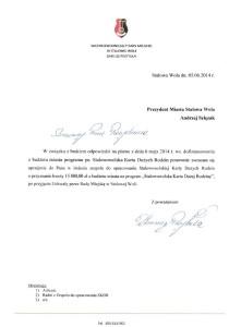 Powtórne pismo doprezydenta