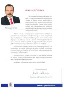 List dowyborców