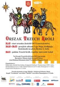orszak trzech krĂłli plakat