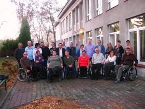 """""""Stowarzyszenie NaRzecz Osób Niepełnosprawnych Ruchowo """"SONIR"""" wStalowej Woli powstało w1998 roku."""