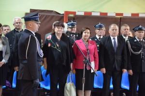 Od lewej Radna Sejmiku Lidia Błądek, Poseł naSejm Renata Butryn, Starosta Stalowowolski Janusz Zarzeczny