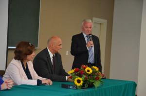 Od lewej: Marszałek Sejmu, Rektor PRz, Waldemar Pawłowski