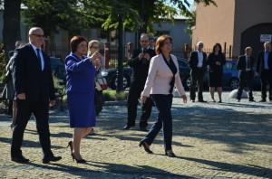Poseł Renata Butryn iMarszałek Sejmu Małgorzata Kidawa - Błońska