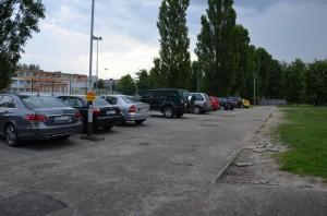 Kolejny etap budowy parkingu koła Szkoły podstawowej nr7