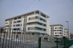 Nowe bloki mieszkalne, któym sprzeciwiał się obecny prezydent Nadbereżny iobecny poseł Weber