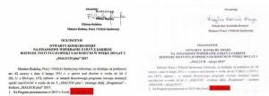 """Dodanie słowa """"PLUS"""" lub znaku """"+"""" doprojektów Ustaw rządu Platformy Obywatelskiej iPSL"""