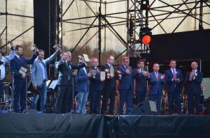 Fot. 14. Finałowe Obchody 80-lecia Centralnego Okręgu Przemysłowego wStalowej Woli