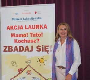 Akcja Laurka. Elżbieta Łukacijewska - europoseł zPodkarpacia